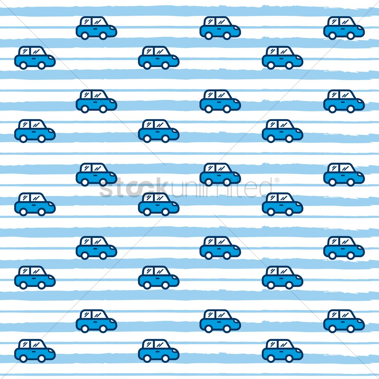 car pattern background vector image 1816298 stockunlimited