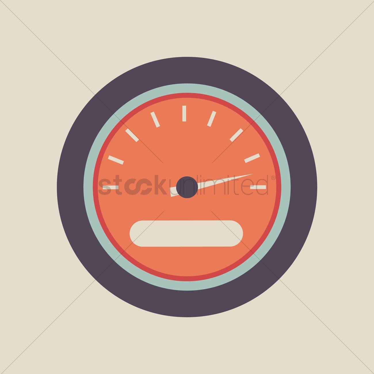 Car speedometer Vector Image - 1445870   StockUnlimited
