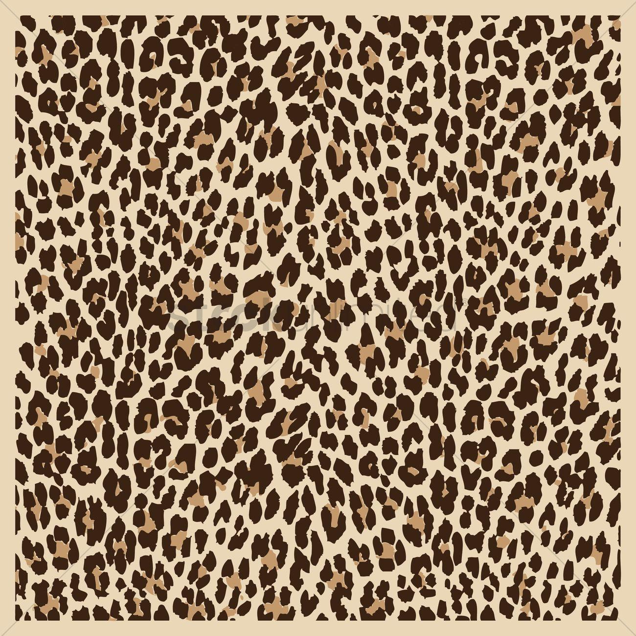 Cheetah skin background Vector Image - 1429838 ...