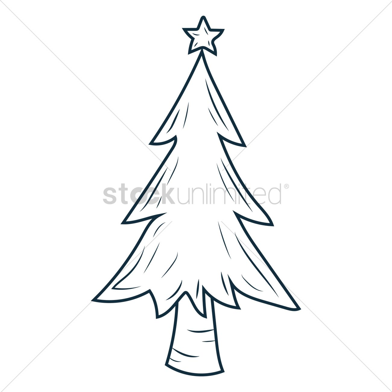 Free Christmas Tree Vector Image 1574666 Stockunlimited