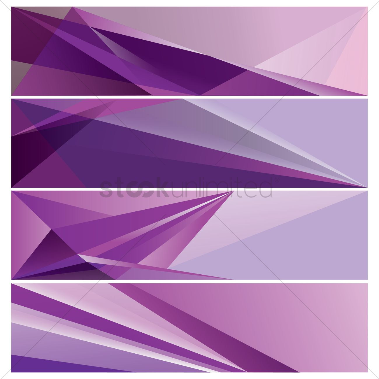 collection of modern web banner designs vector image 1956414
