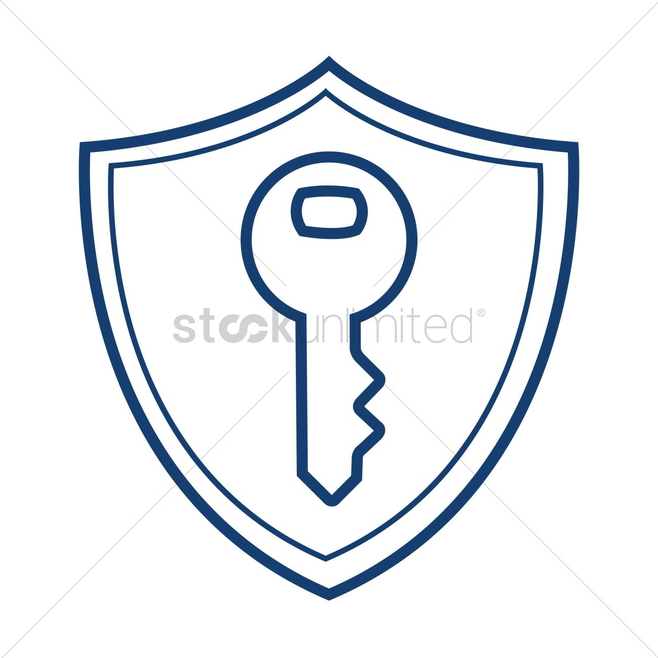 Computer system protection shield symbol vector image 2007754 computer system protection shield symbol vector graphic buycottarizona Image collections