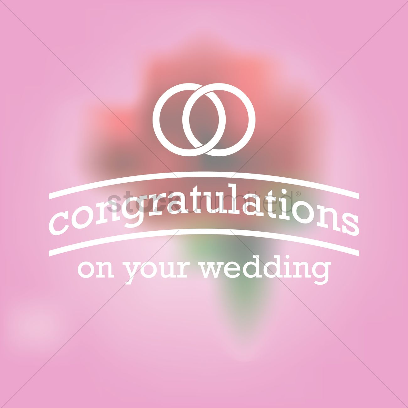 congratulations on your wedding greeting