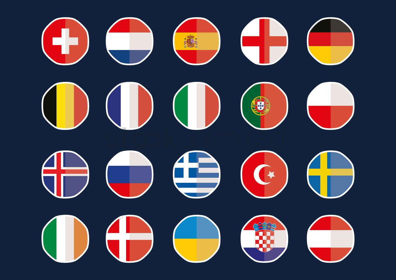 England Flag Sticker Pack