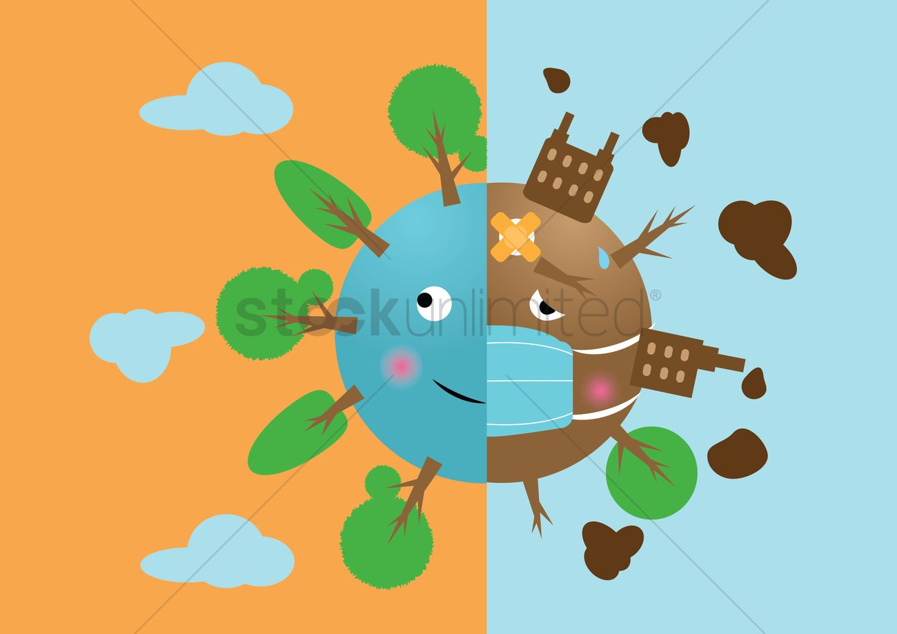 deforestation and afforestation vector image 1302682 scales clip art images scale clip art photos
