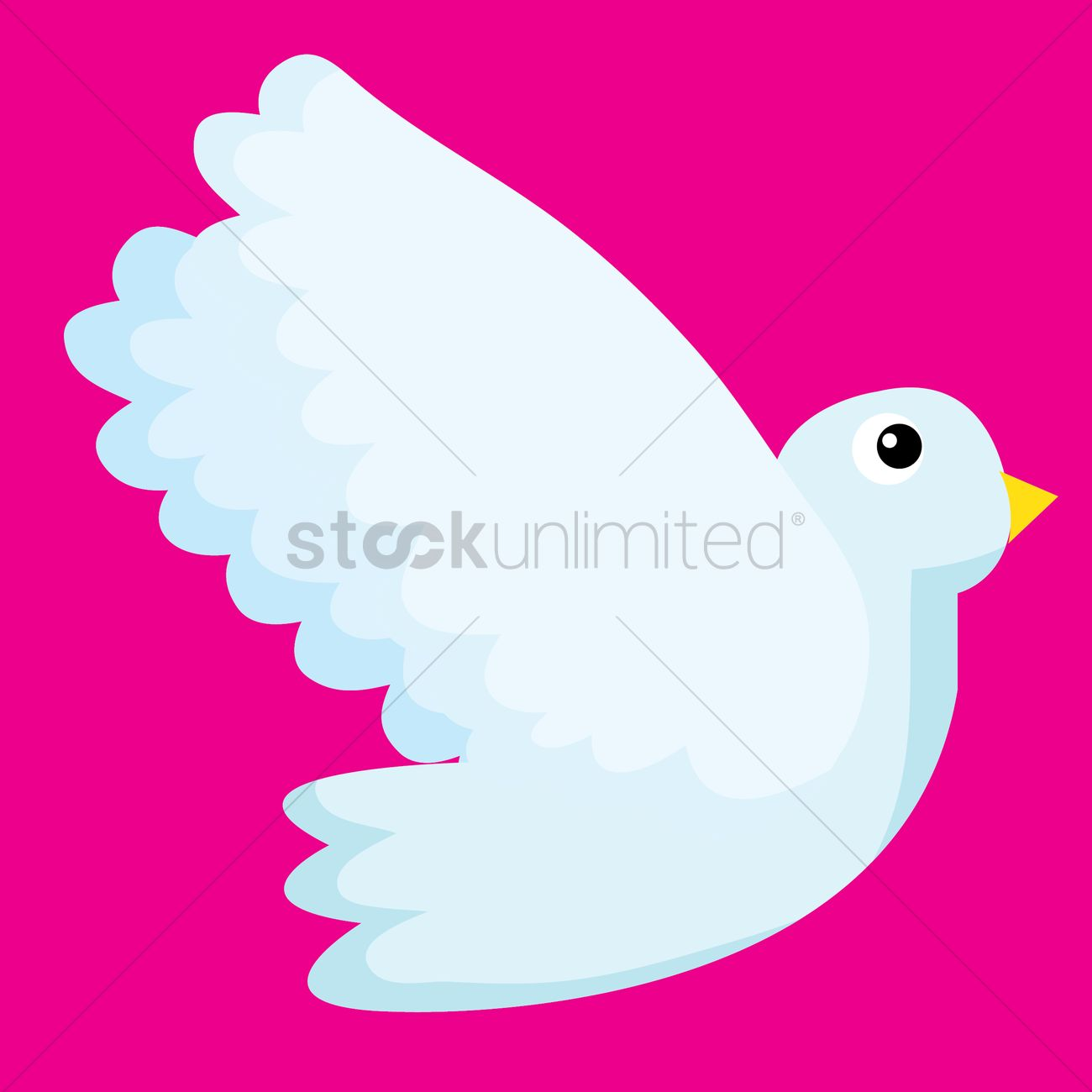Dove Vector Image - 1418698 | StockUnlimited