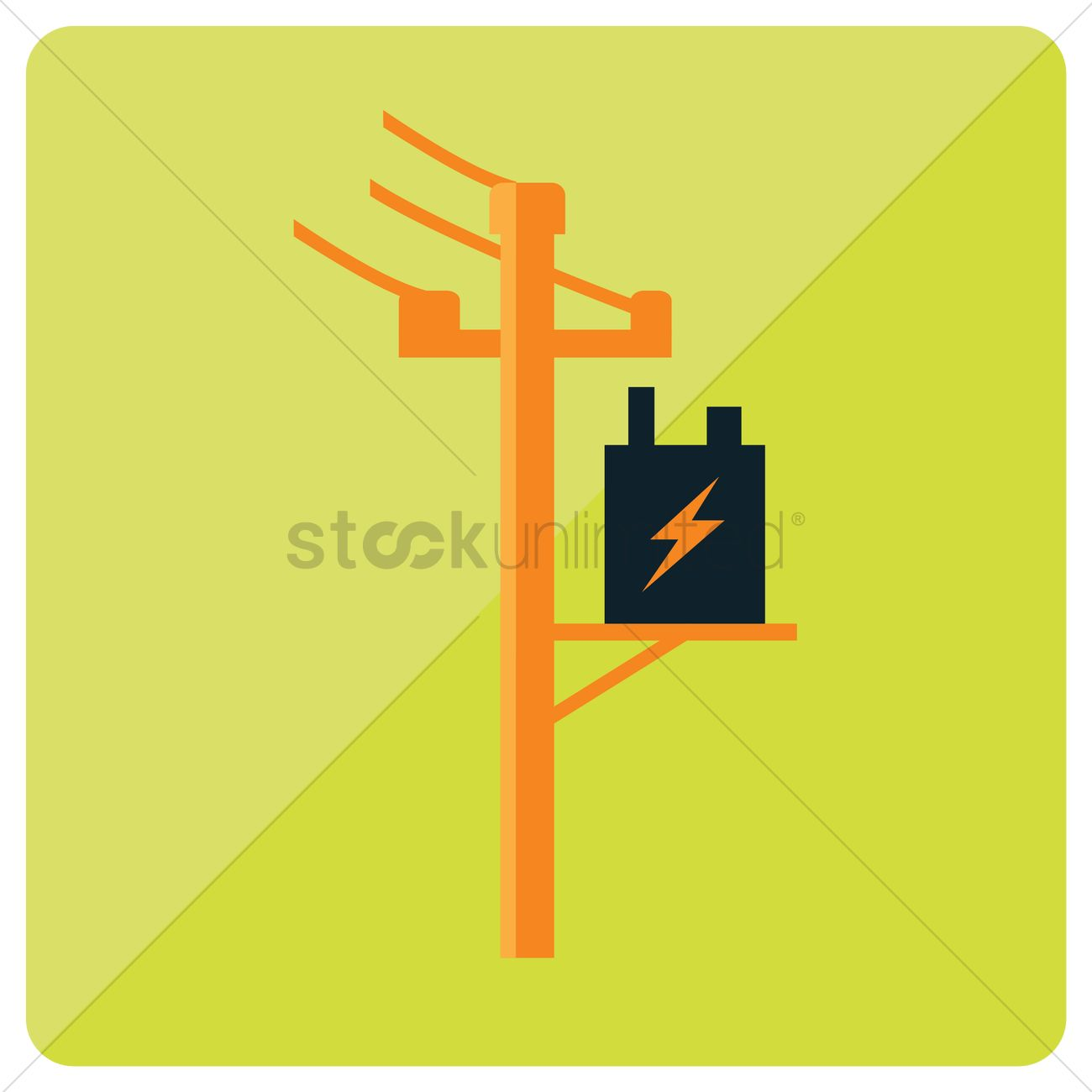 Free Electric power pole Vector Image - 1248362 | StockUnlimited