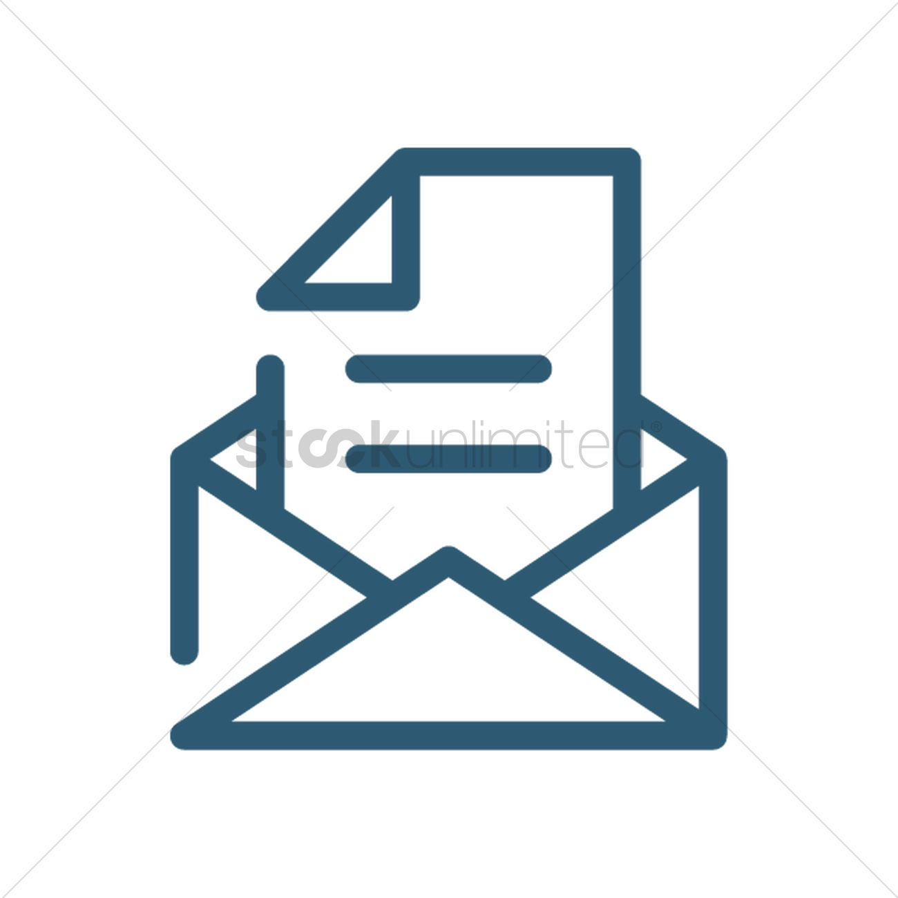 Email Symbol Vector Image 2033186 Stockunlimited