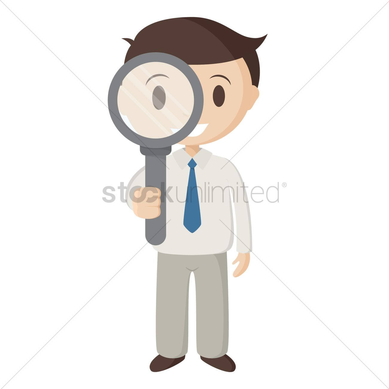 Magnifying Glass clip art (121103) Free SVG Download / 4 Vector