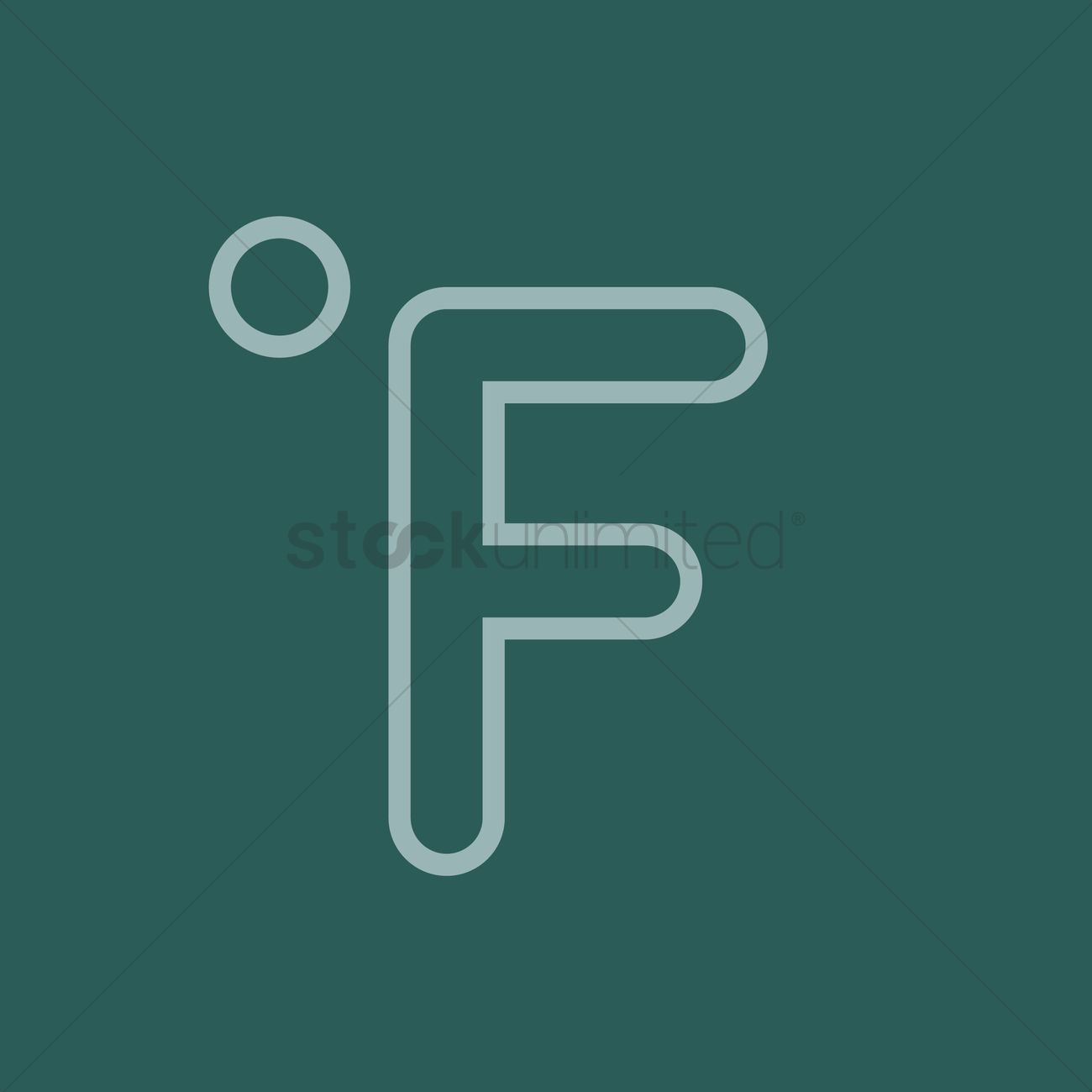 Fahrenheit symbol vector image 1370334 stockunlimited fahrenheit symbol vector graphic biocorpaavc Choice Image