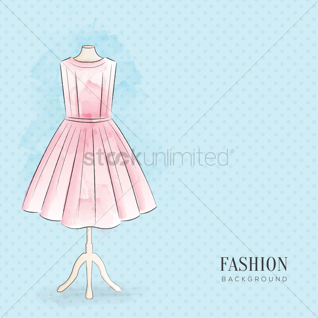 Fashion Background Design Vector Image 1973278 Stockunlimited