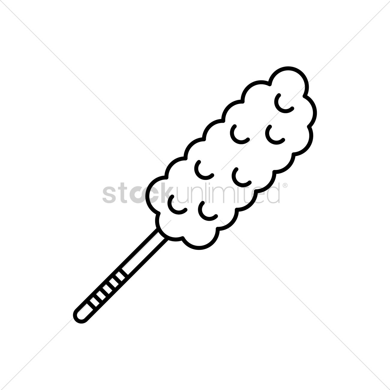 feather duster vector image 1998374 stockunlimited rh stockunlimited com feather duster clipart Pink Feather Duster Clip Art