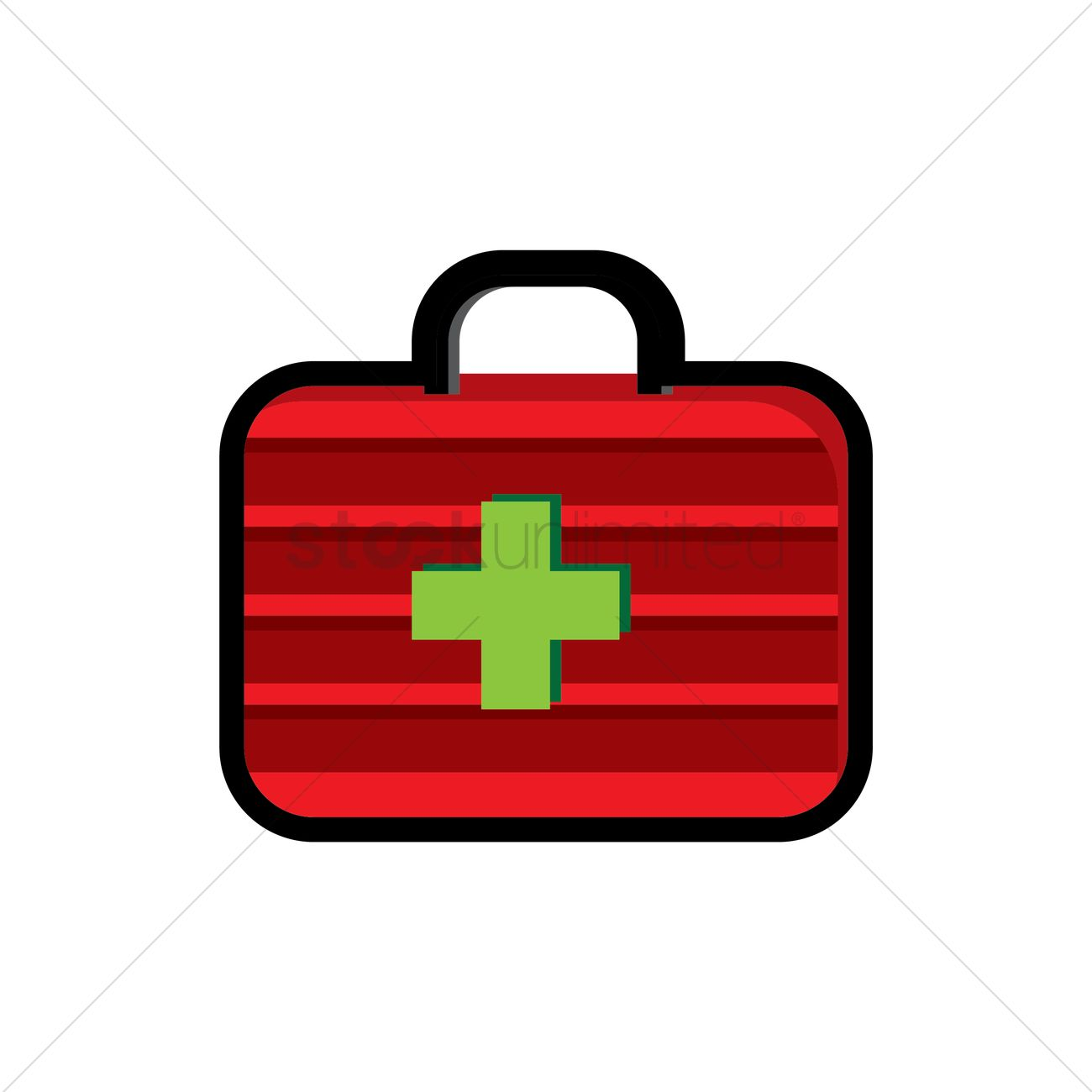 First aid kit Vector Image - 1870894 | StockUnlimited
