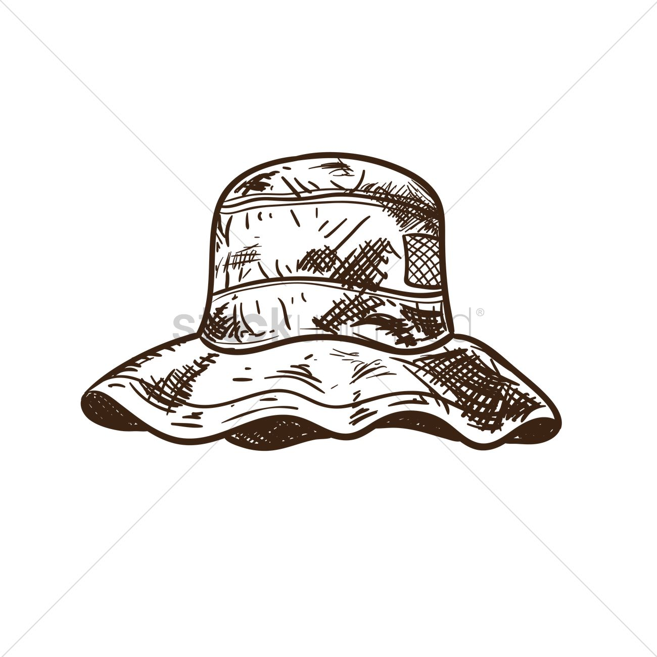Download Fishing Hat Vector Image 1871294 Stockunlimited