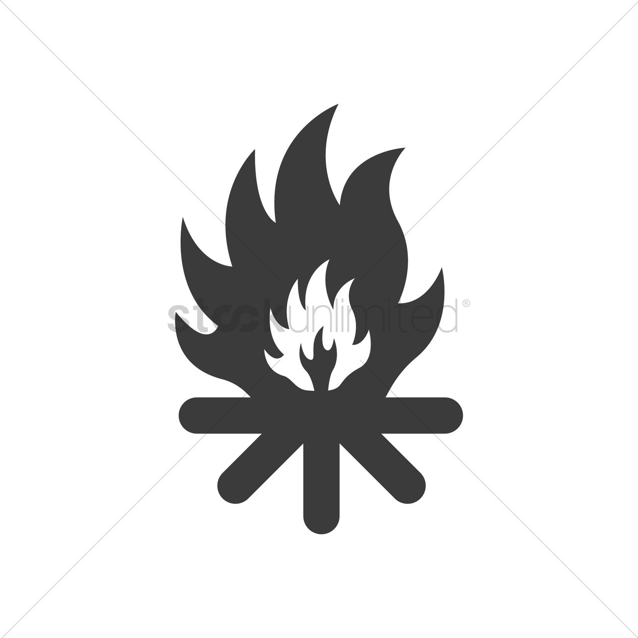 Flammable symbol vector image 2029530 stockunlimited flammable symbol vector graphic buycottarizona