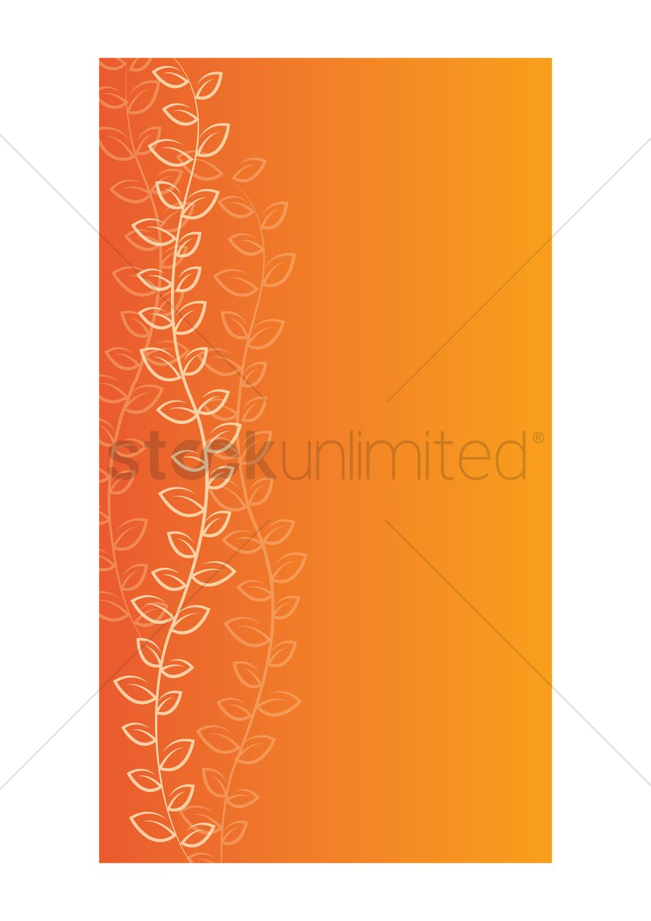 Floral Wallpaper For Mobile Phone Vector Image 1635778