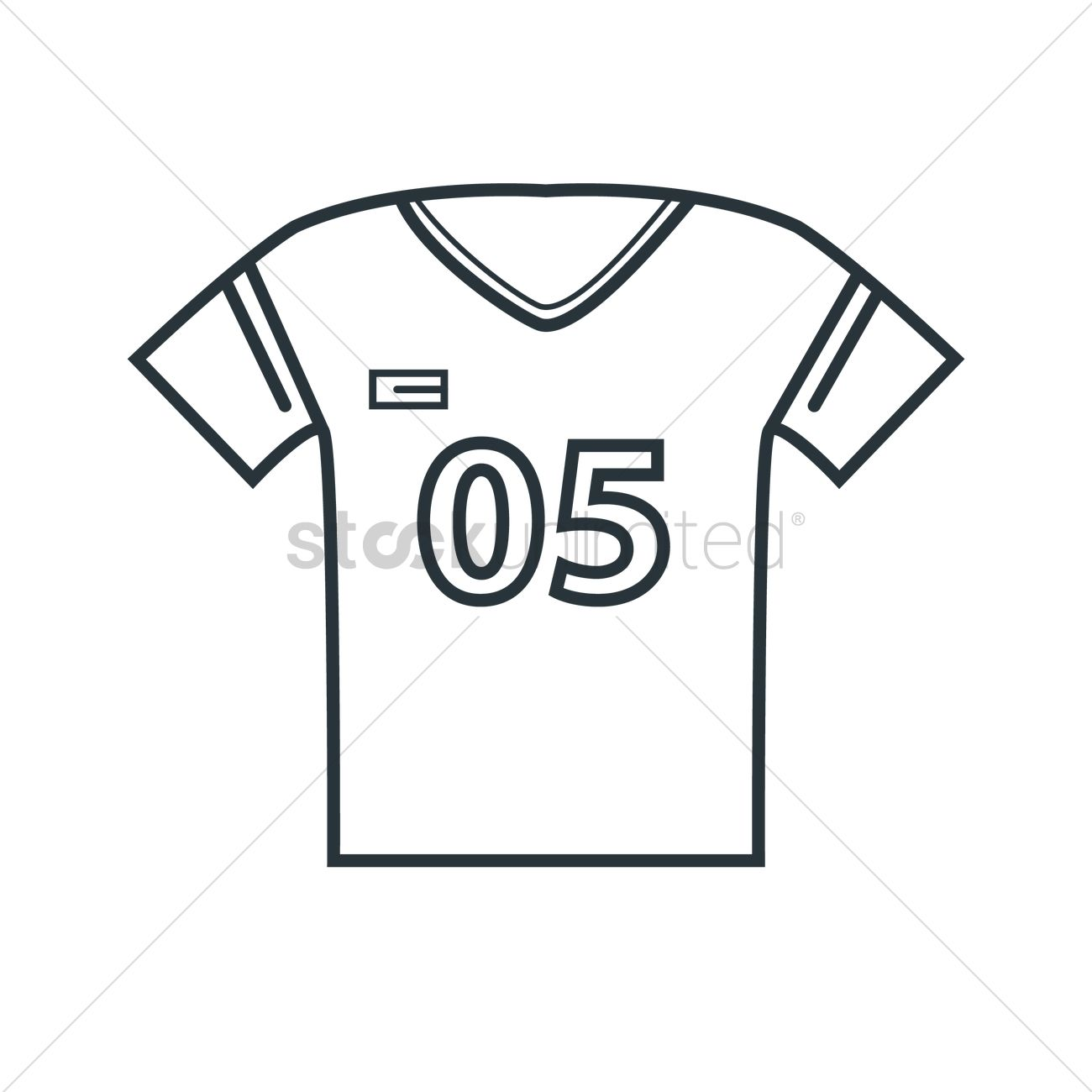 football jersey vector image 1493162 stockunlimited rh stockunlimited com football jersey clipart images football uniform clipart