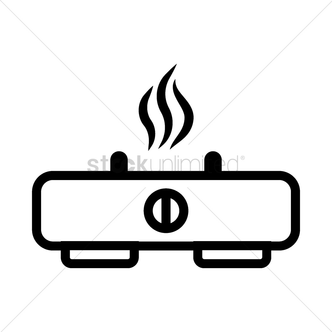 stove clipart black and white. gas stove vector graphic clipart black and white