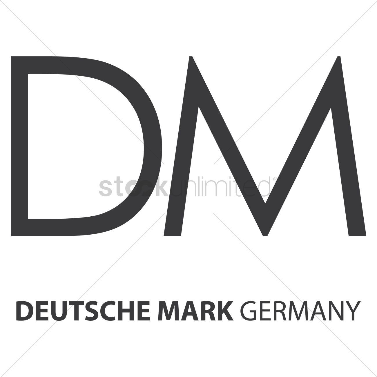 German deutsche mark vector image 1753662 stockunlimited german deutsche mark vector graphic buycottarizona