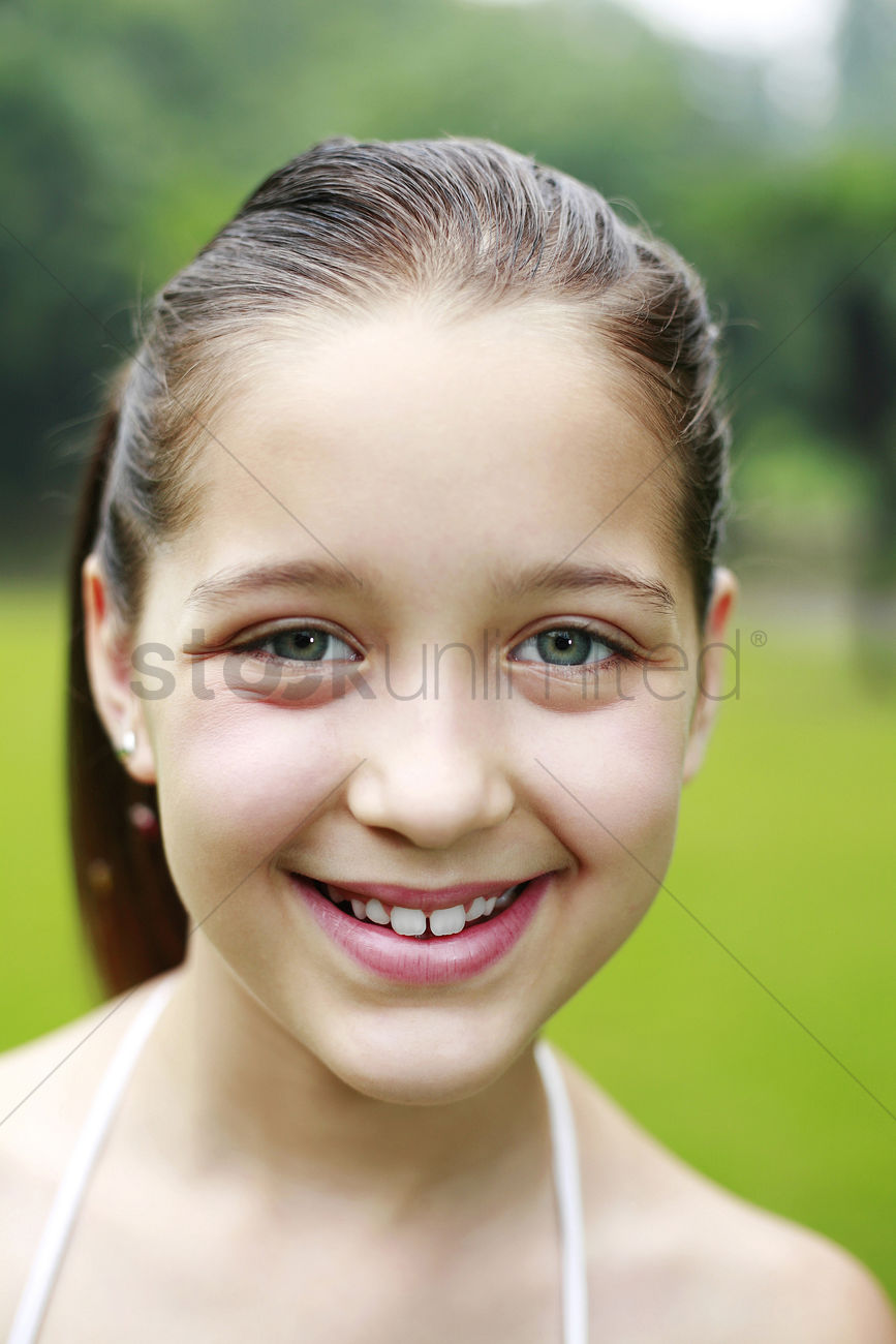 Girl Smiling Stock Photo - 1673834  Stockunlimited-3740