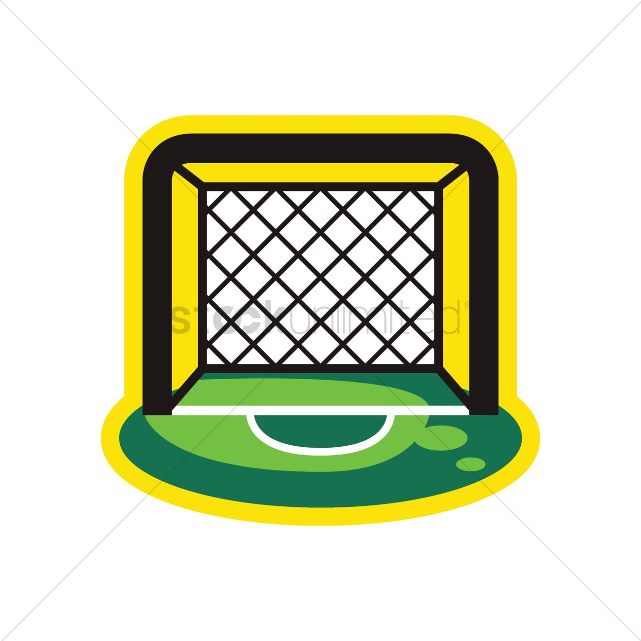 goal post icon vector image 1958482 stockunlimited rh stockunlimited com goal post clipart goal post clips