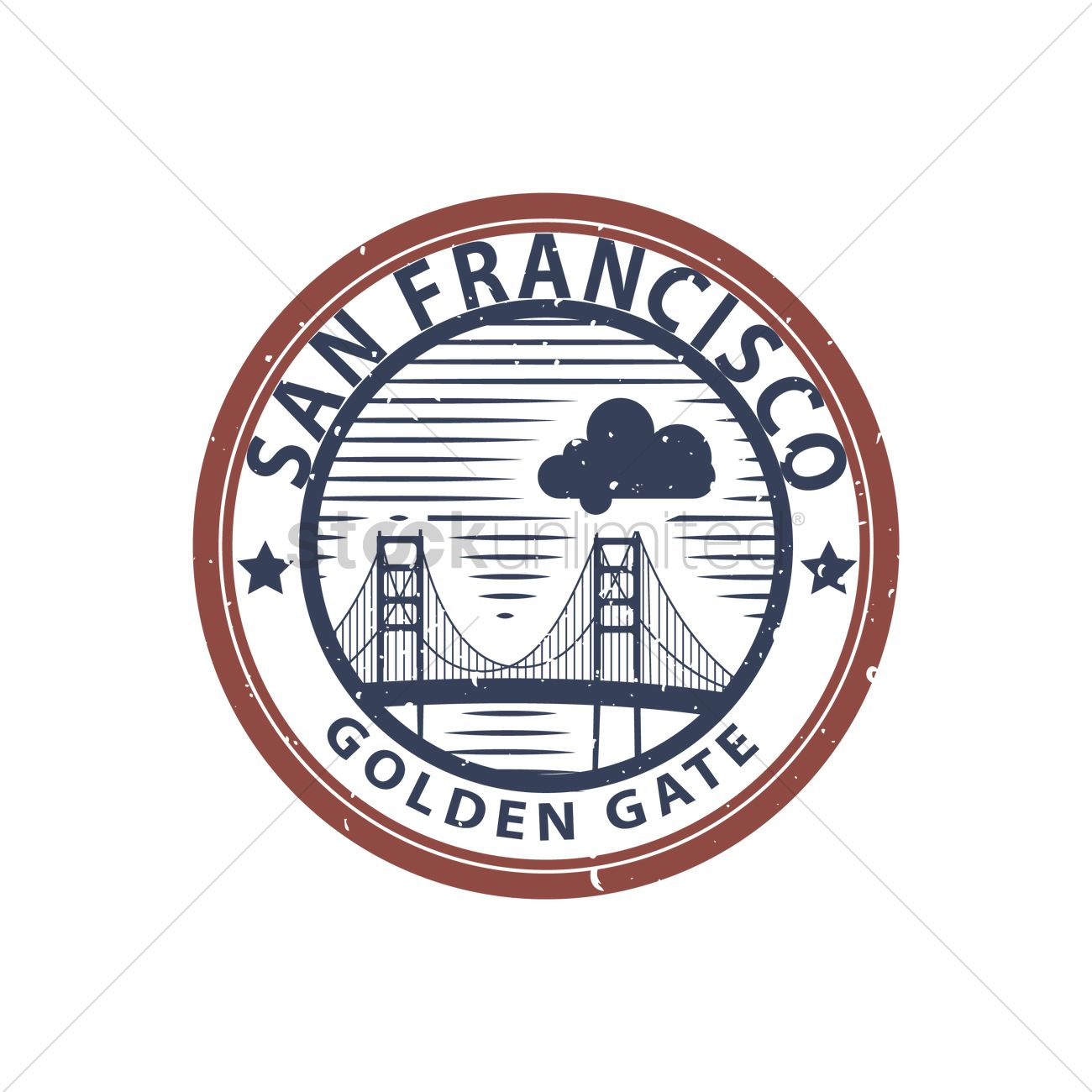 Golden Gate Bridge Vector Image 1567630 Stockunlimited Diagram Of The Graphic