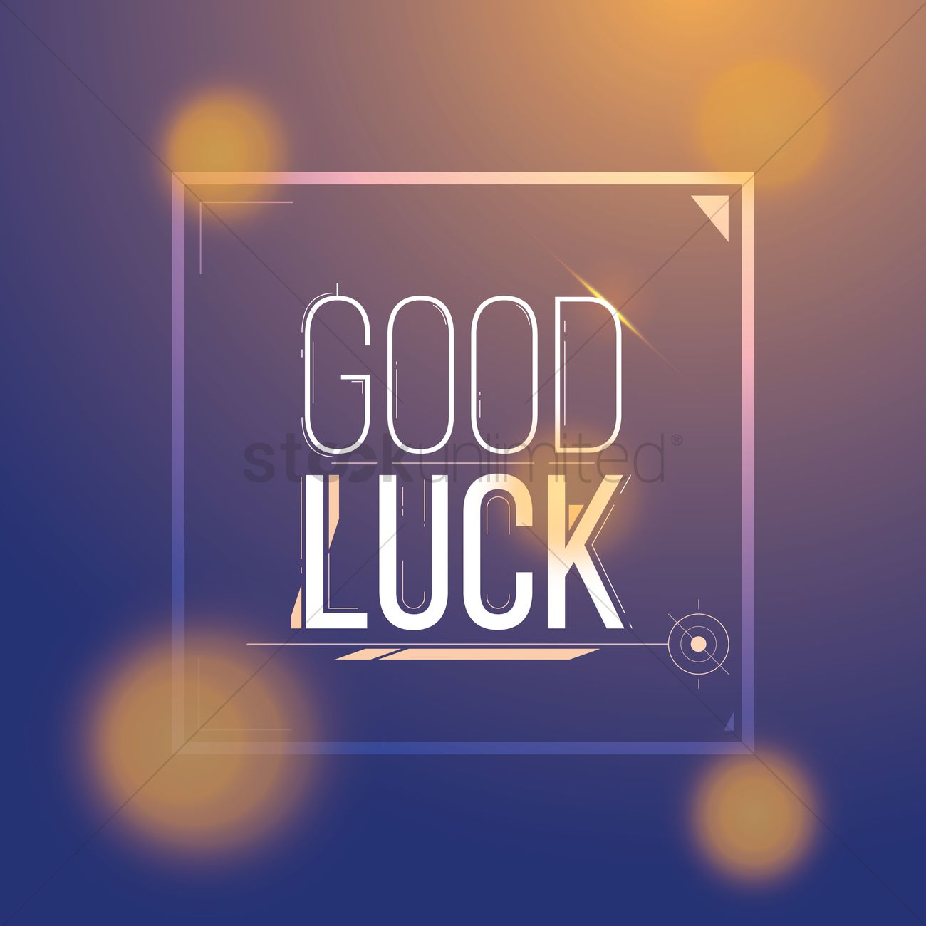 Good luck greeting vector image 1811318 stockunlimited good luck greeting vector graphic kristyandbryce Image collections