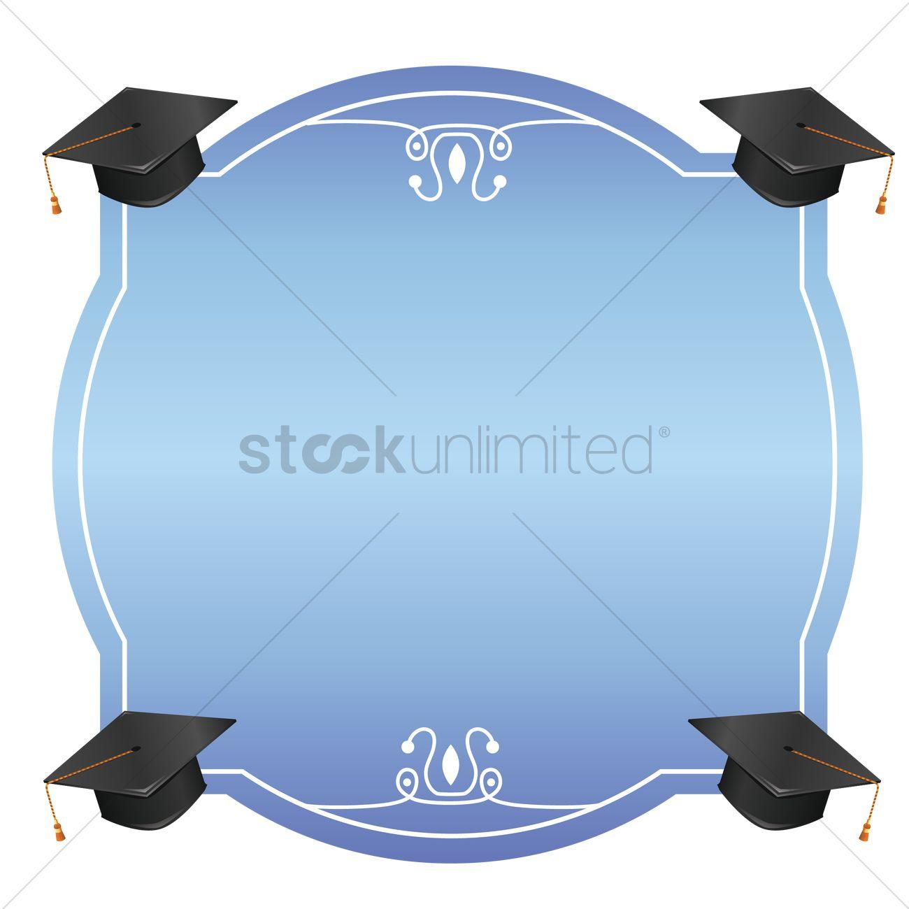 Graduation frame Vector Image - 1531430 | StockUnlimited