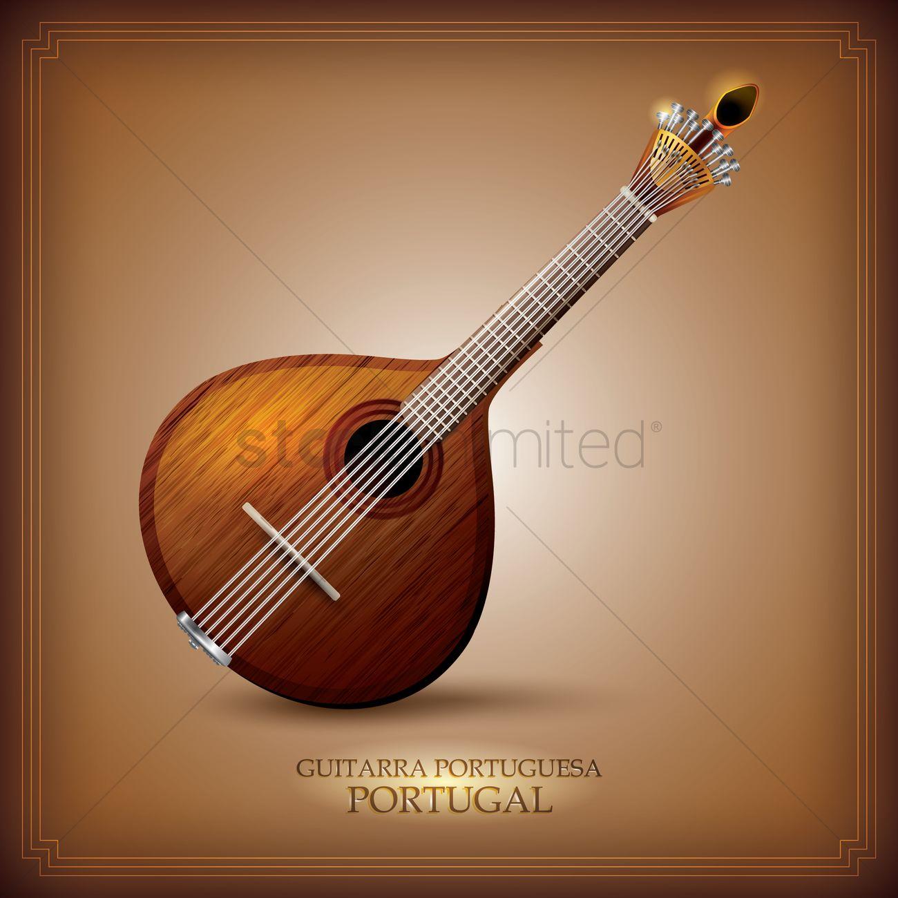 guitarra portuguesa vector image 1623358 stockunlimited guitar vector free guitar vector file