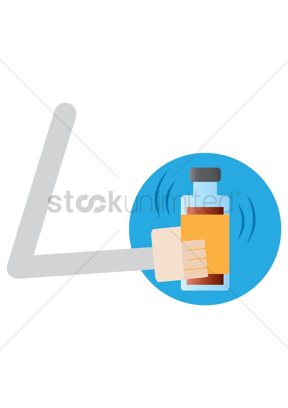 Shake Bottle Clipart
