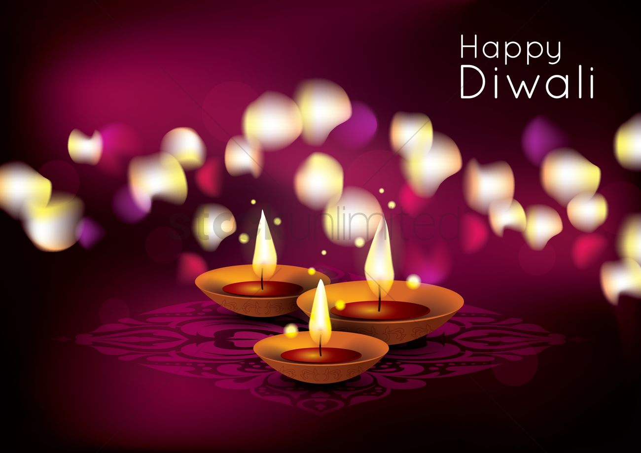 Happy diwali poster design Vector Image - 1964146 | StockUnlimited