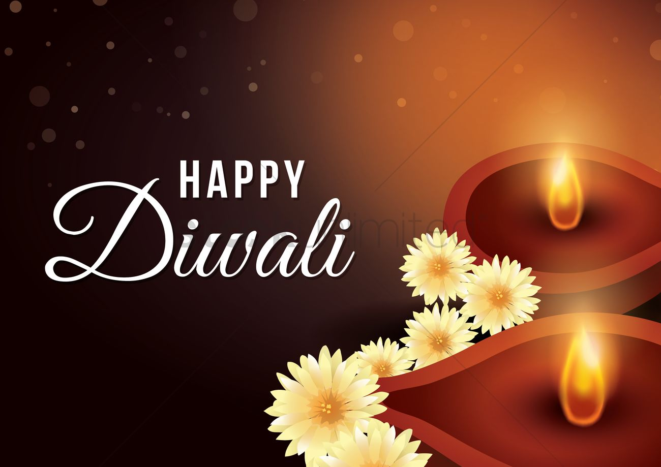 Happy Diwali Poster Design Vector Image 1964378 Stockunlimited