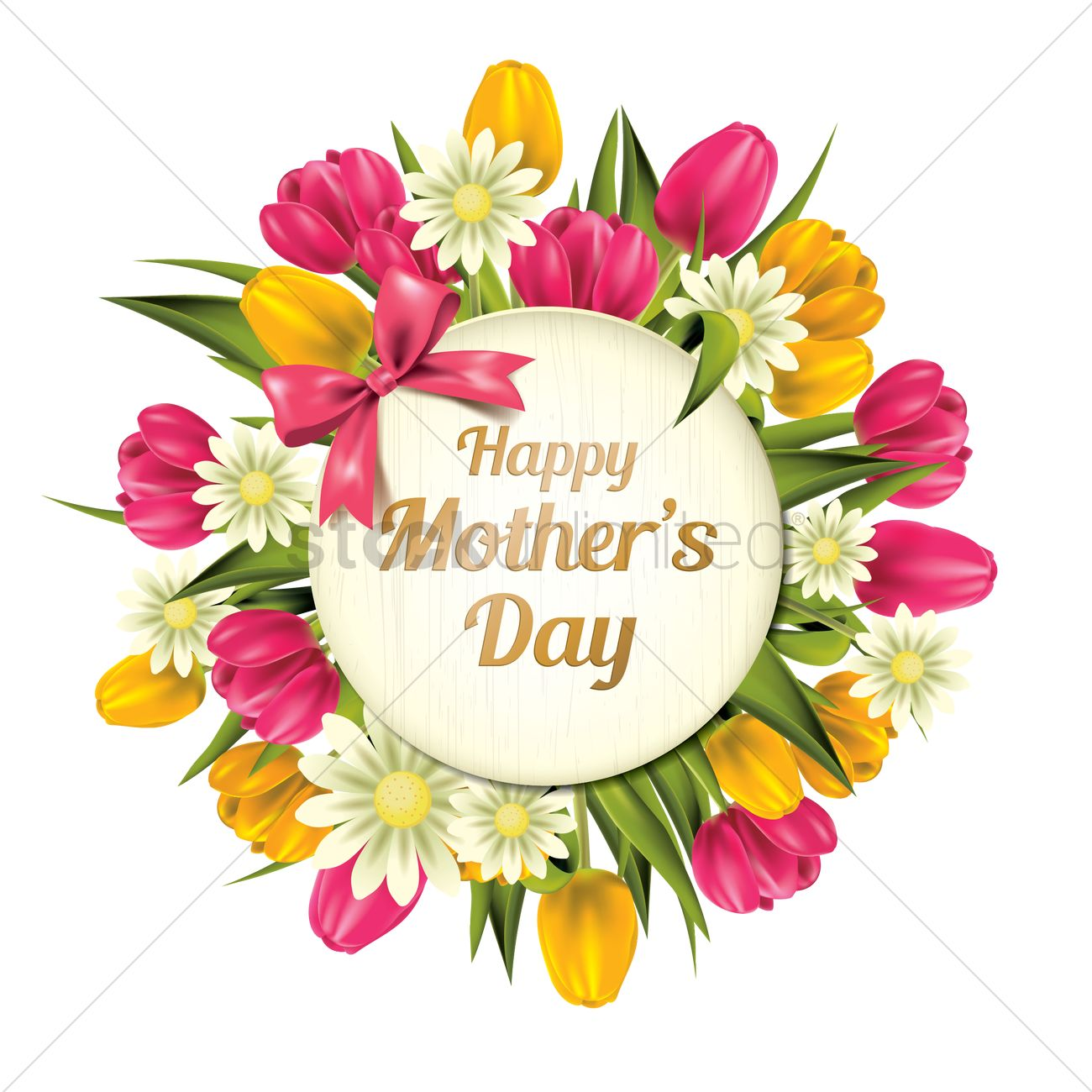 Happy Mothers Day Vector Image 1807710 Stockunlimited