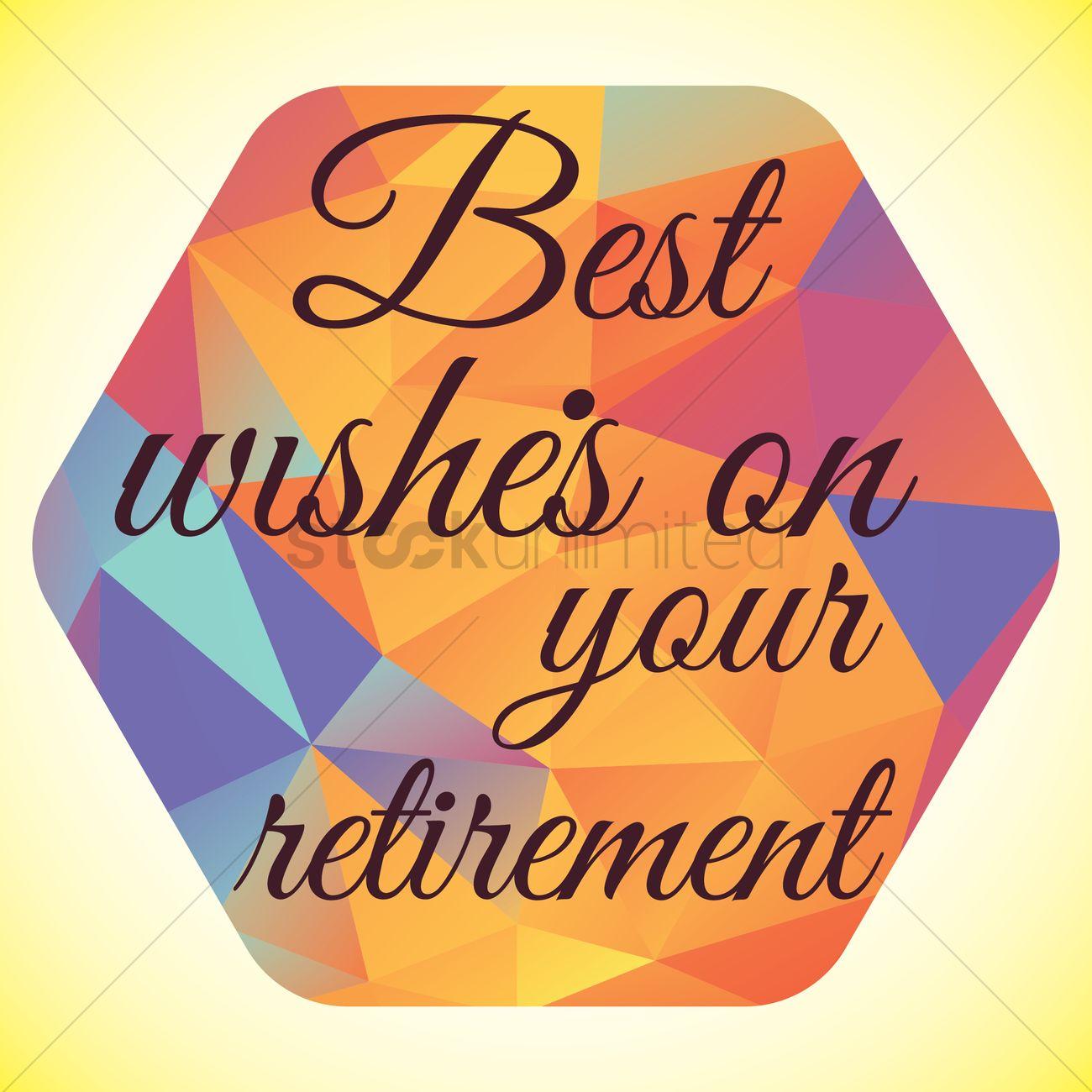 Happy retirement wish vector image 1827610 stockunlimited happy retirement wish vector graphic kristyandbryce Images