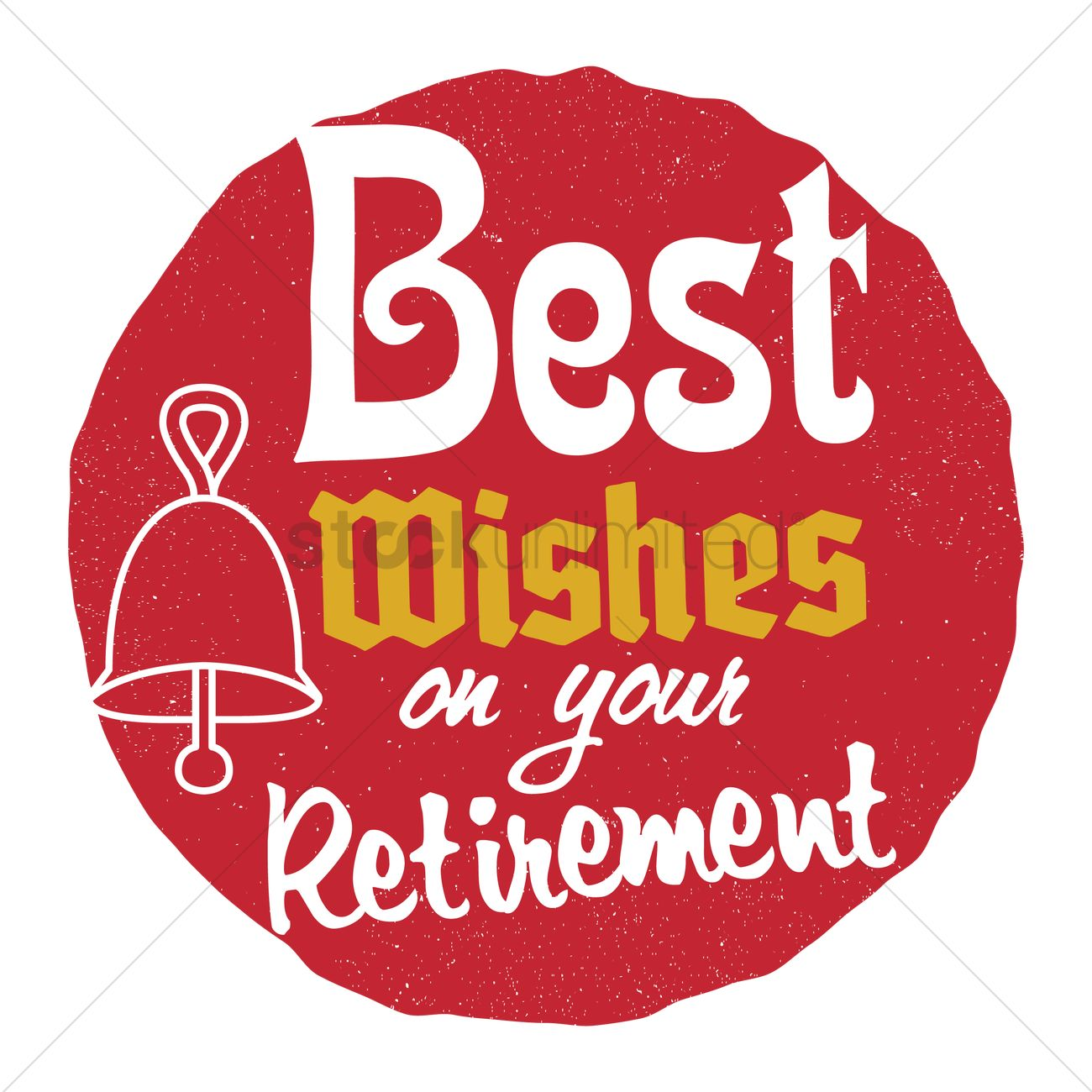 Happy retirement wish vector image 1827662 stockunlimited happy retirement wish vector graphic kristyandbryce Images