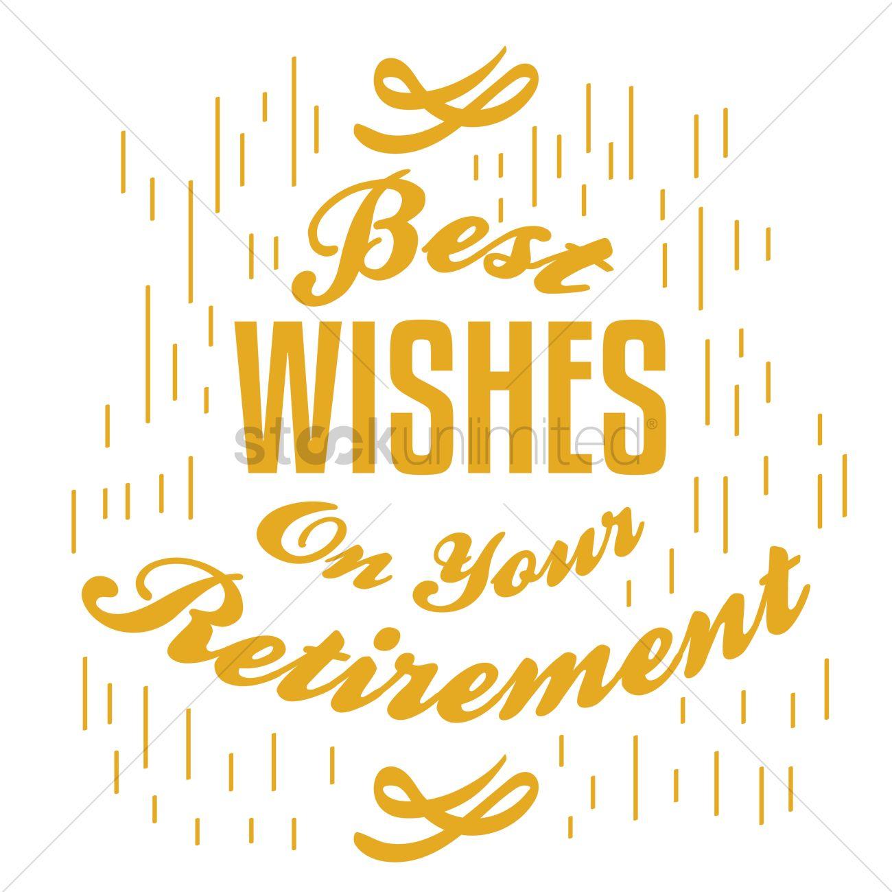 Happy retirement wish vector image 1827718 stockunlimited happy retirement wish vector graphic kristyandbryce Images