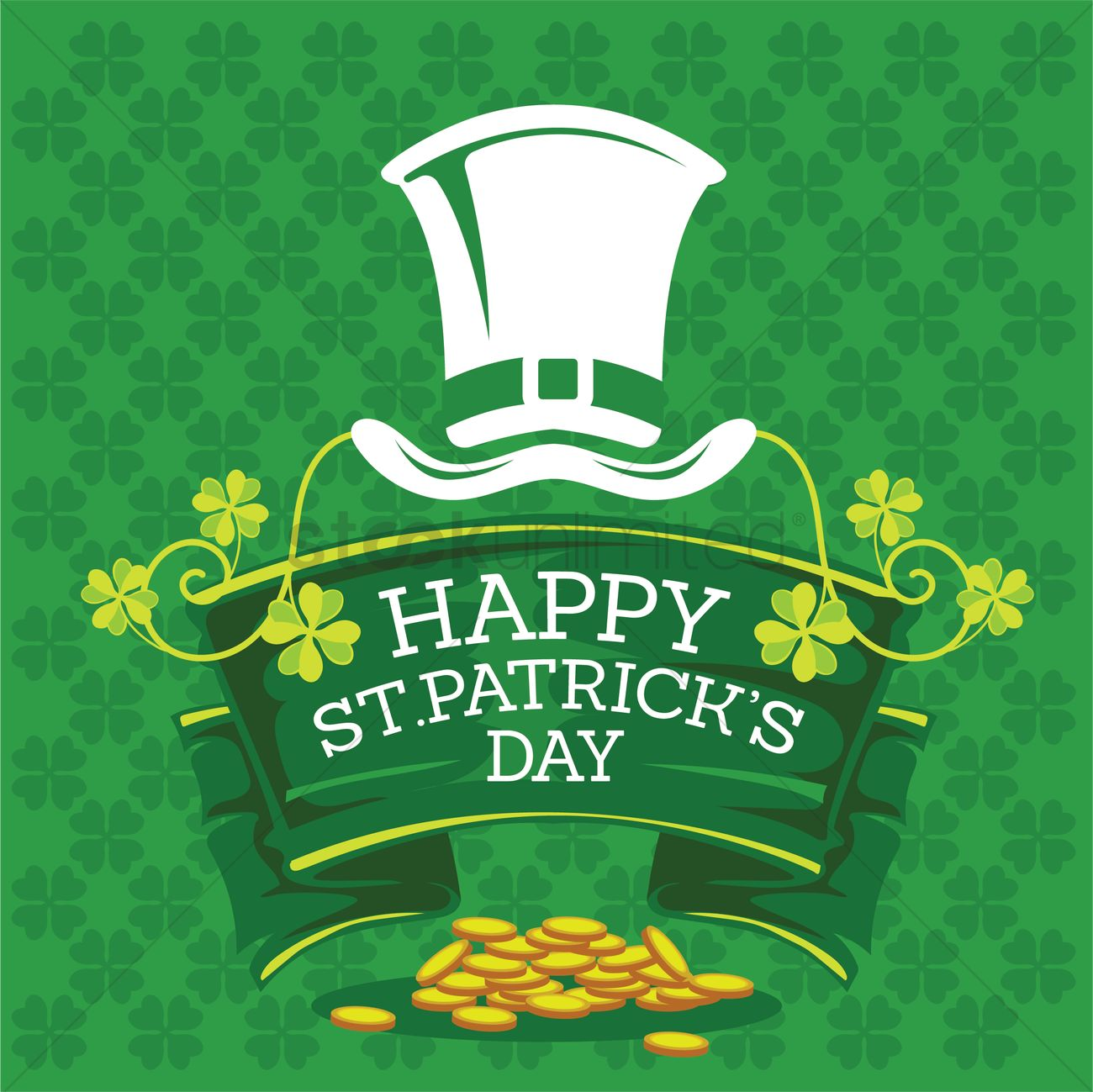 Happy st patricks day Vector Image - 1991594 | StockUnlimited