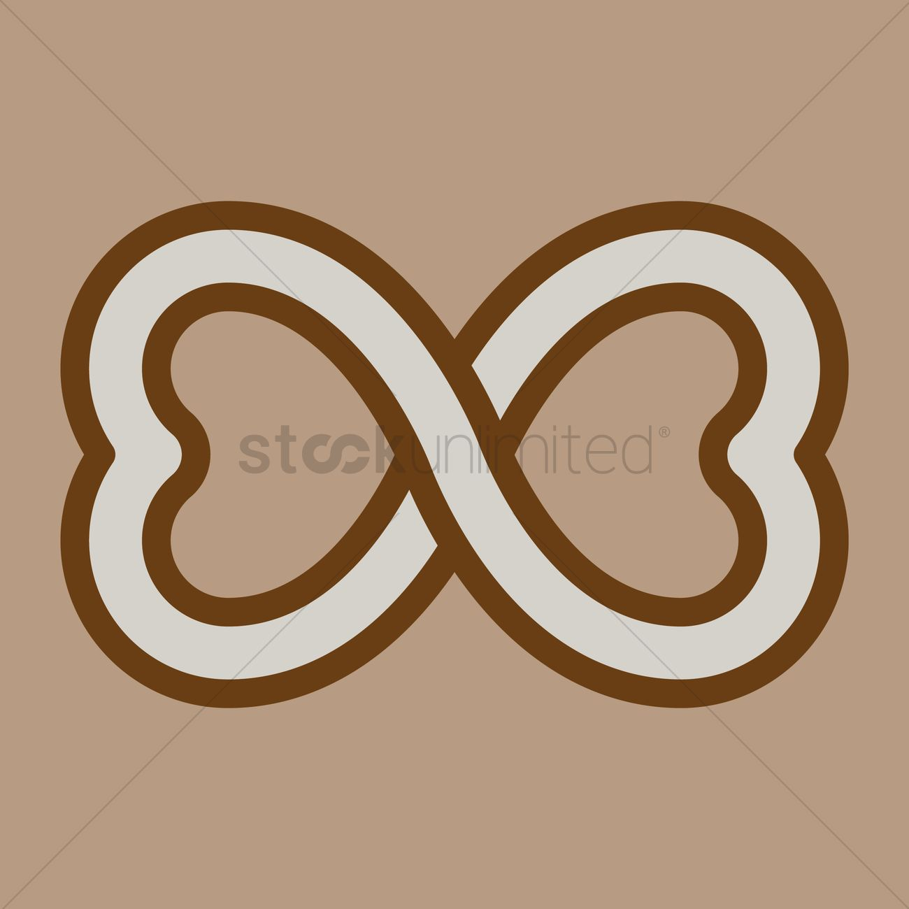 Heart shaped infinity symbol vector image 1308682 stockunlimited heart shaped infinity symbol vector graphic buycottarizona Gallery