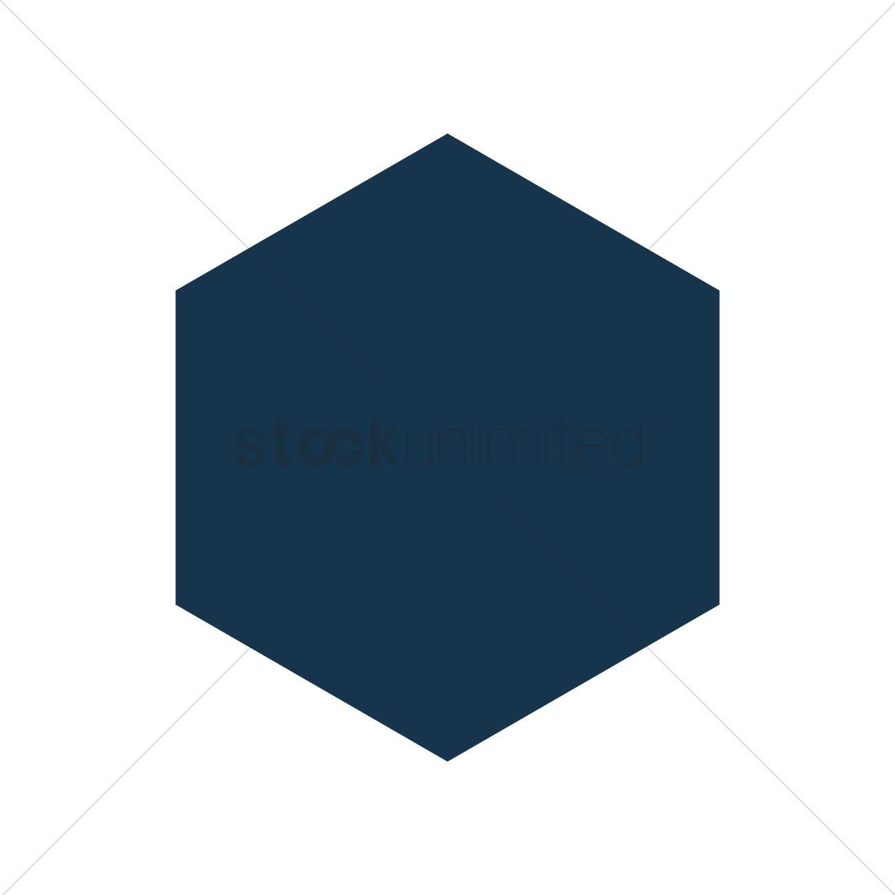 hexagon icon vector image 1954934 stockunlimited rh stockunlimited com hexagon vector extensions hexagon vector shape