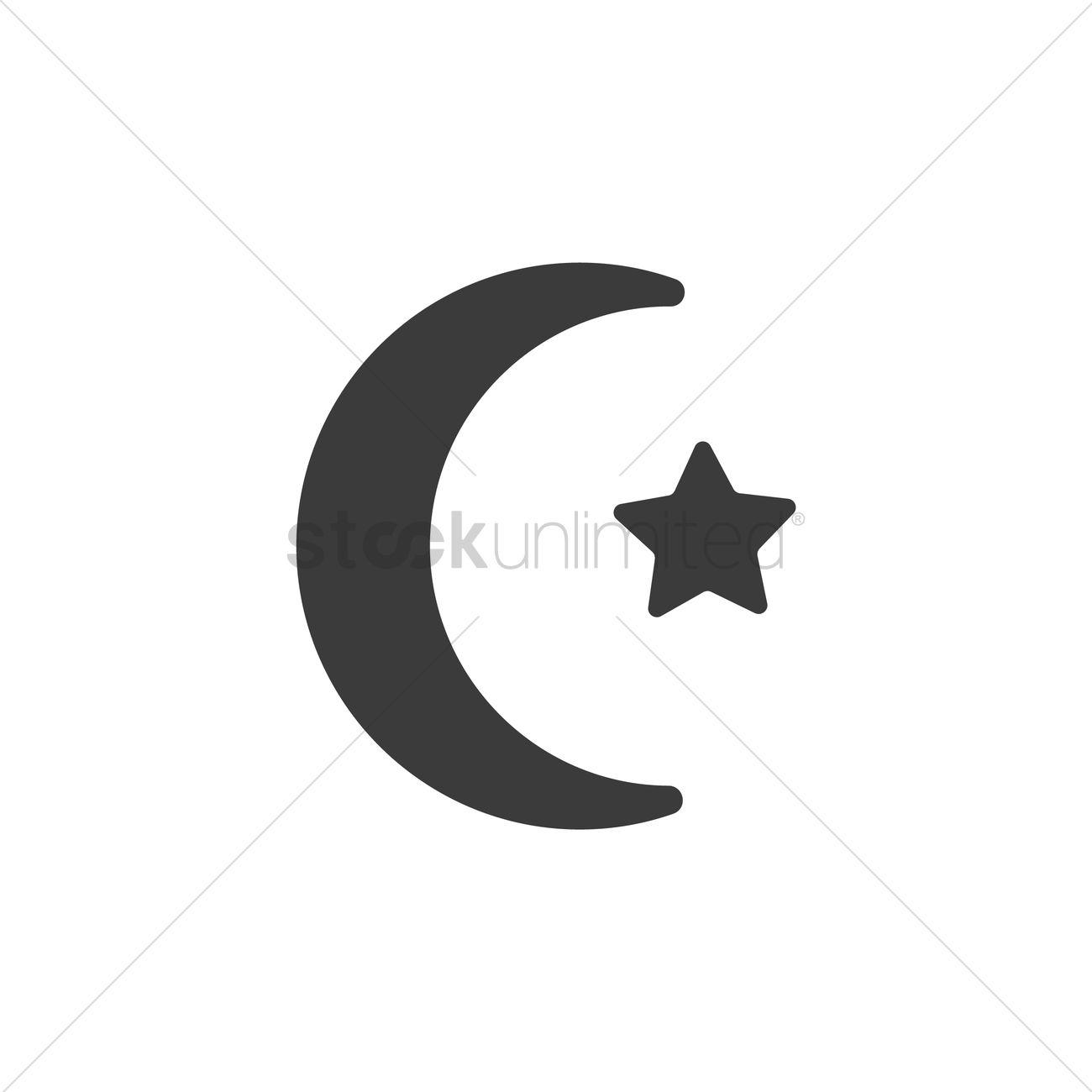 Islamic Symbol Vector Image 2029382 Stockunlimited