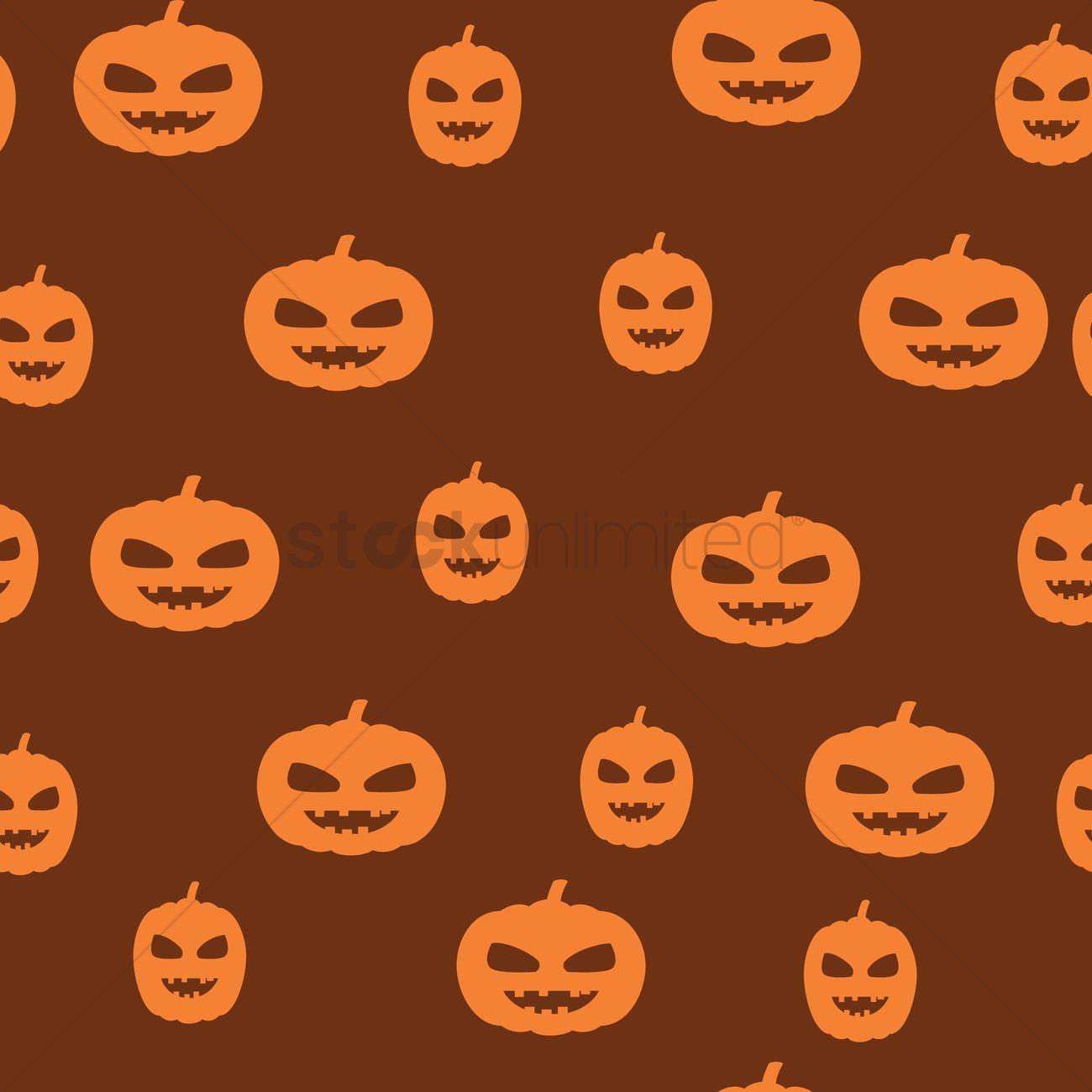 Jack O Lantern Background Vector Image 1241734 Stockunlimited