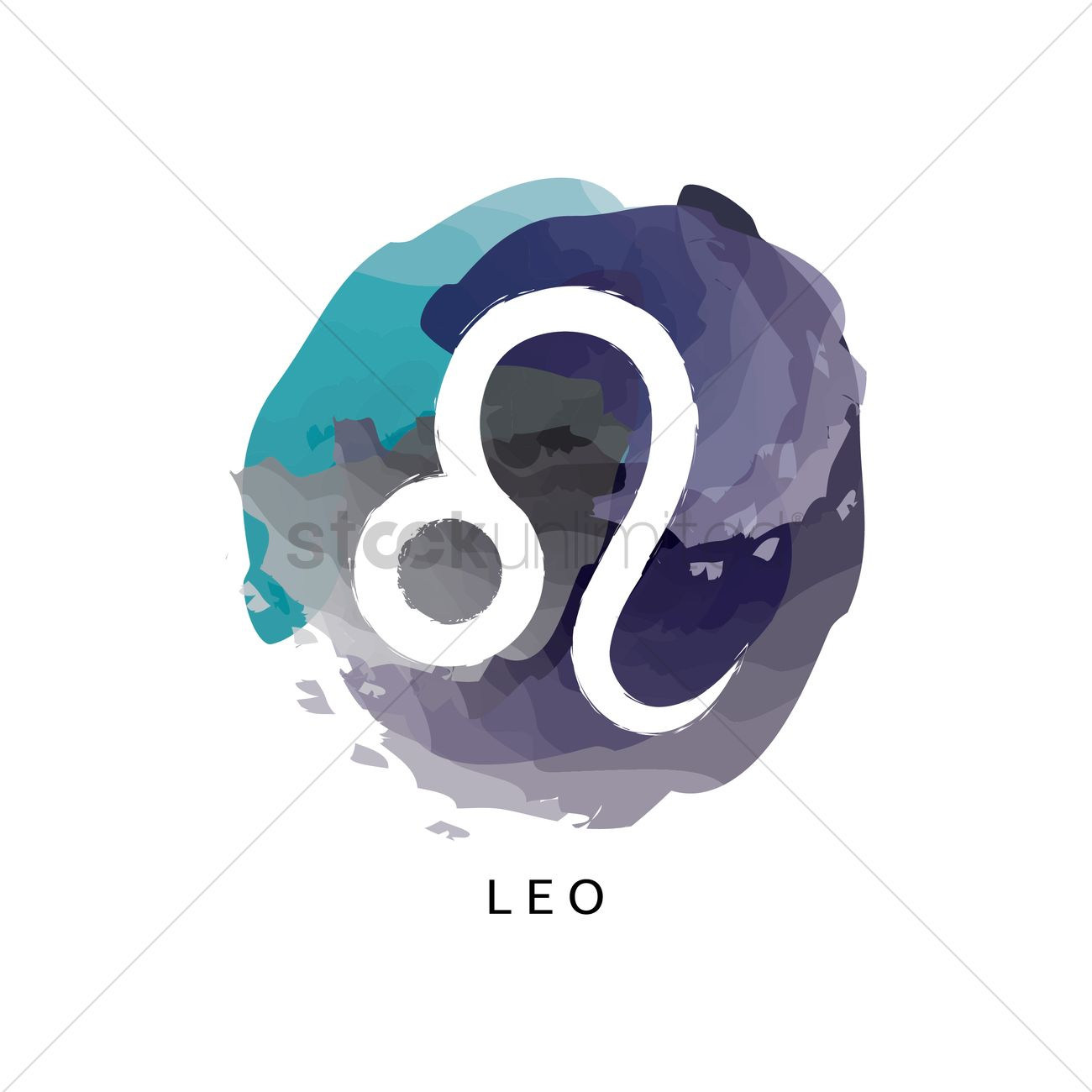 Leo Symbol Vector Image 1964274 Stockunlimited