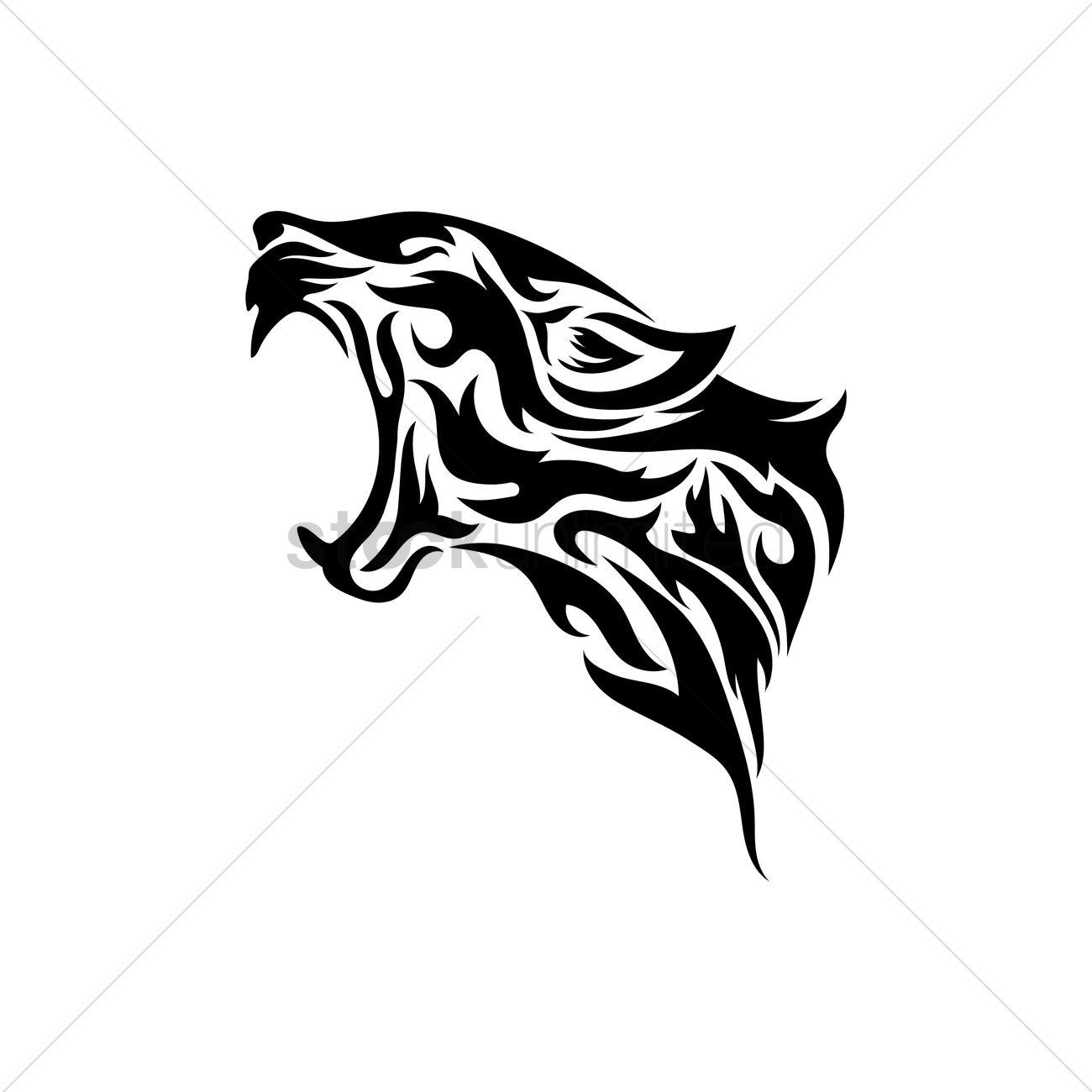 Leopard Head Tattoo Designs