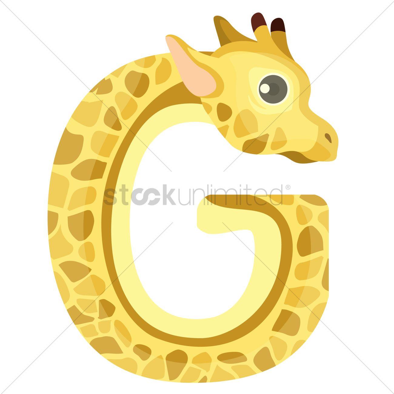 Letter g for giraffe vector image 1236506 stockunlimited letter g for giraffe vector graphic spiritdancerdesigns Gallery