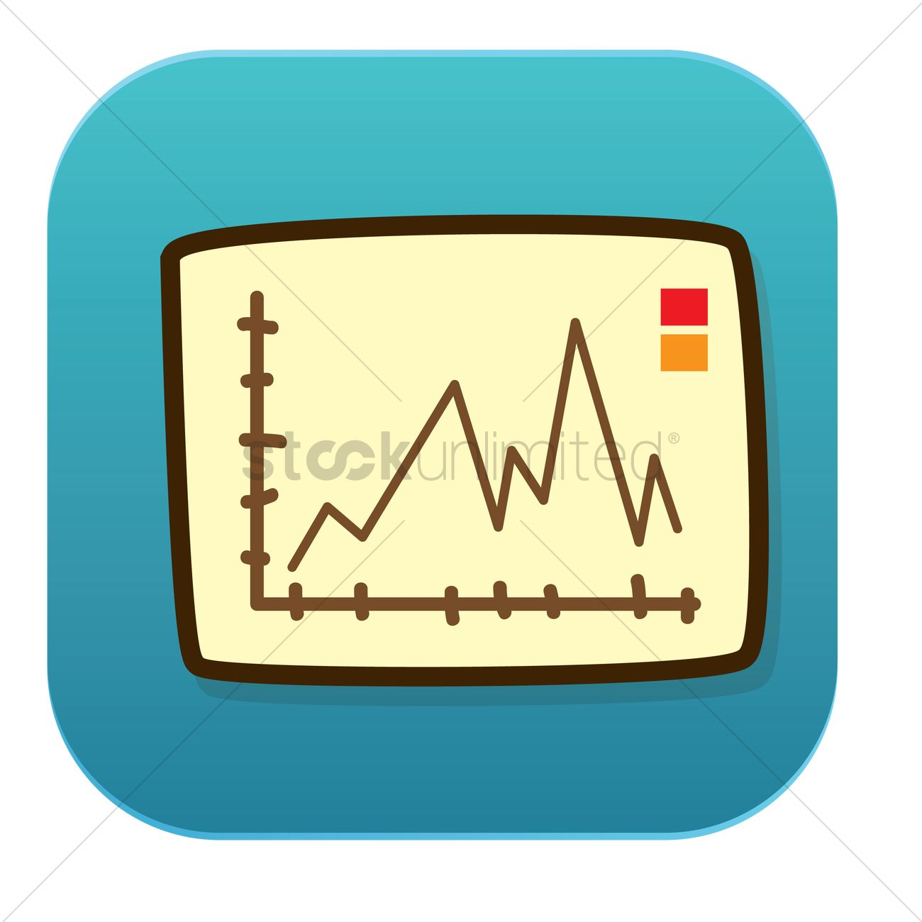 line graph vector image - 1241506 | stockunlimited