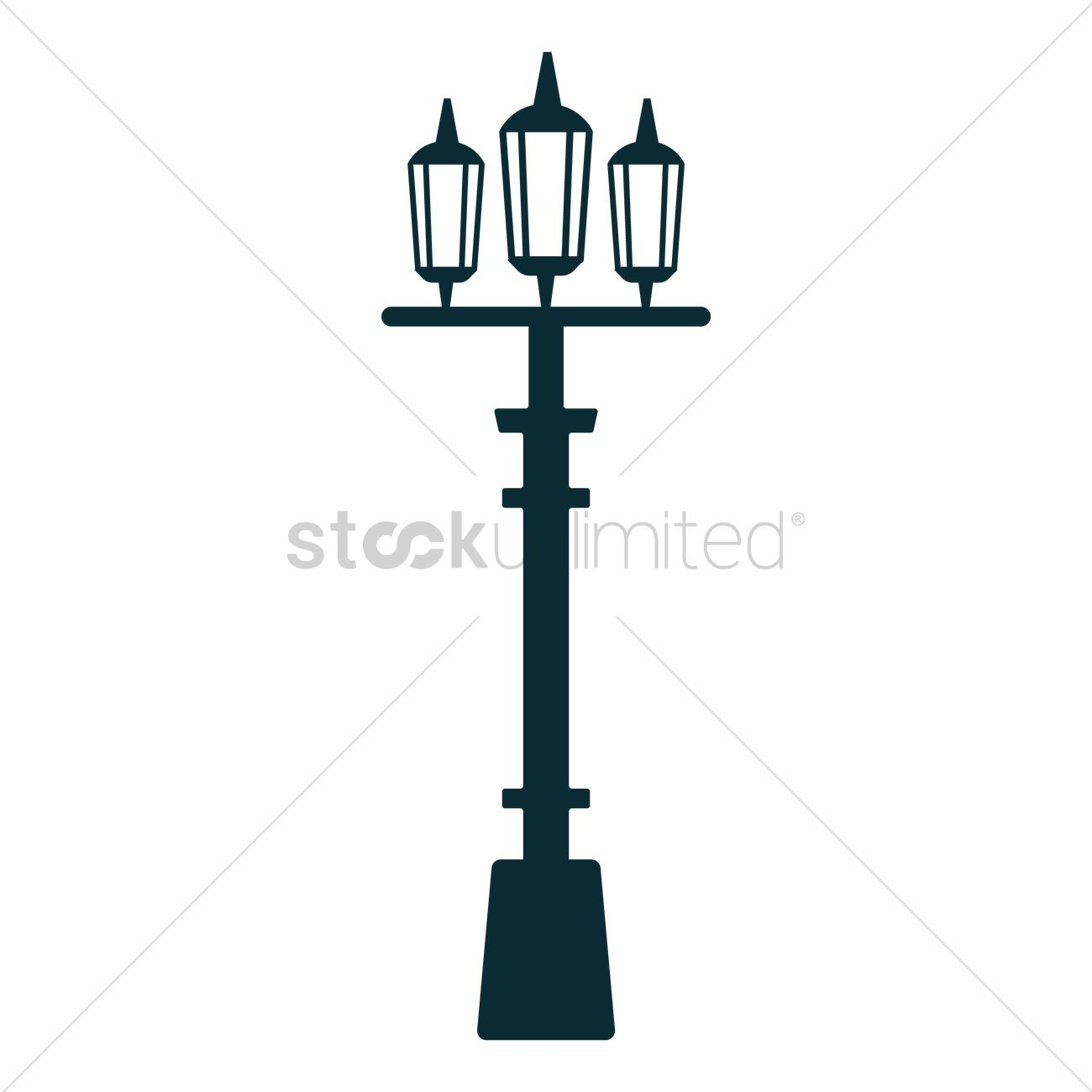 London street lamp Vector Image - 1576602 | StockUnlimited for Street Lamp Post Vector  155fiz