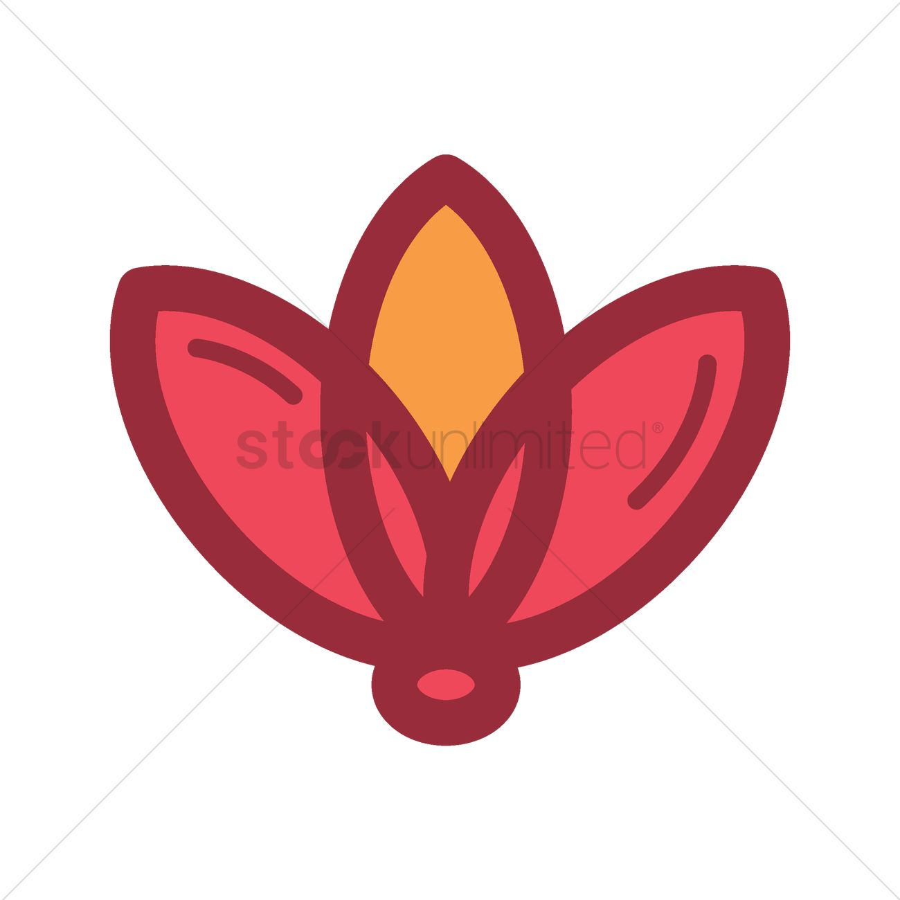 Lotus flower vector image 1967970 stockunlimited lotus flower vector graphic izmirmasajfo