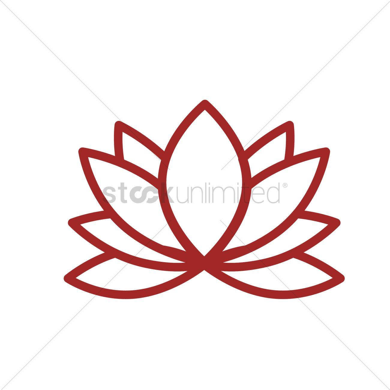 Lotus flower vector image 1970242 stockunlimited lotus flower vector graphic izmirmasajfo