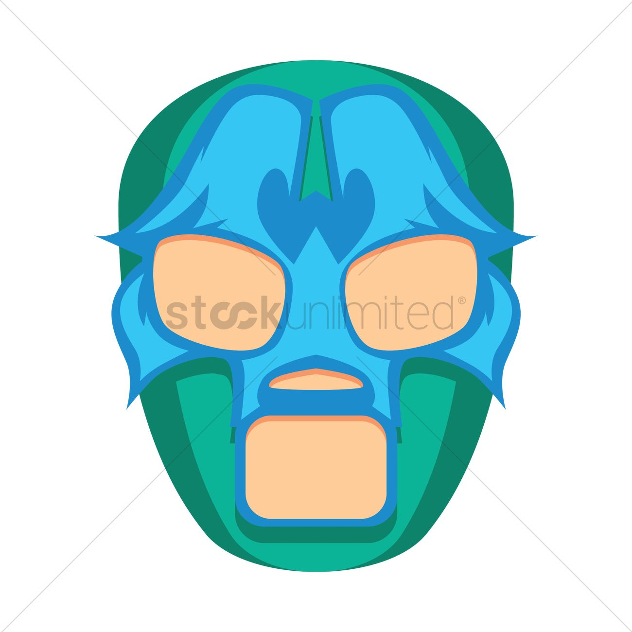 lucha libre mask vector image 2013358 stockunlimited