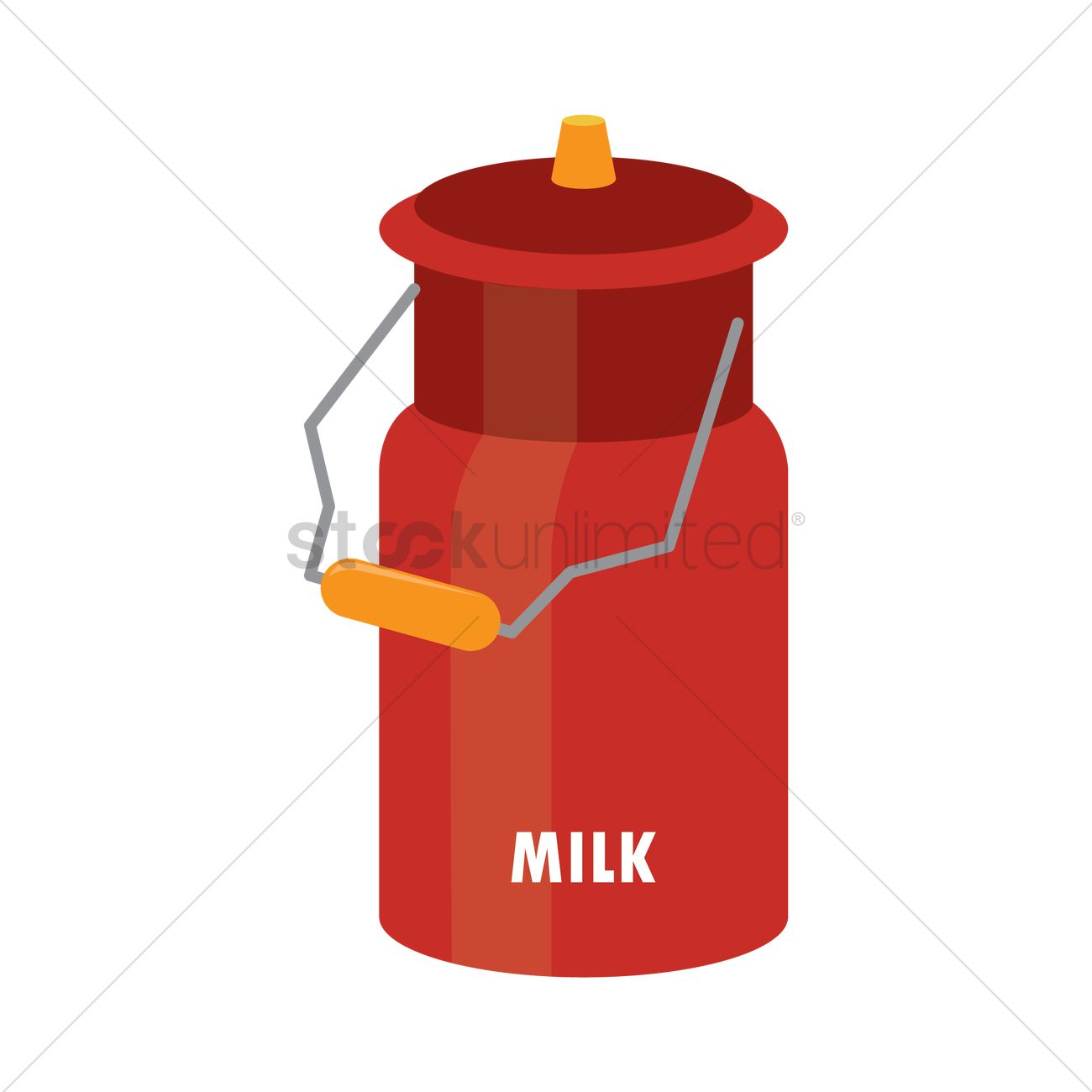 Milk Can Clipart